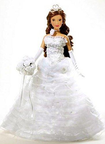 Princess Quinceanera 14in Porcelain Doll White - Buy Princess Quinceanera 14in Porcelain Doll White - Purchase Princess Quinceanera 14in Porcelain Doll White (Princess Quinceanera, Toys & Games,Categories,Dolls,Porcelain Dolls)