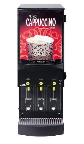 Wilbur Curtis Café Primo Cappuccino System 3 Station Cappuccino (4 Lb Hoppers) - Commercial Cappuccino Machine - CAFEPC3CS10000 (Each)