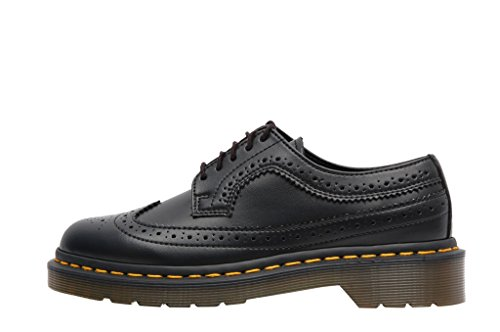 Dr Martens 3989 Derby Shoes Felix Rub off 16153001 Black - Scarpe Stringate