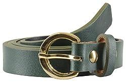 Garvan Women's Green Casual Leather Belt (LBW 12-Green)