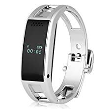 buy Excelvan Fashion Women'S Mtk6260 Bluetooth Phone Companion Smart Bracelet Watches Sync Call Sms Music For Ios Iphone (Part Function) Android Samsung Smartphone