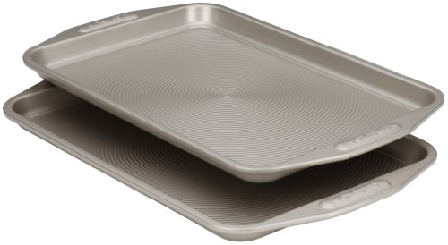 Circulon Nonstick Bakeware 10-Inch-by-15-Inch Cookie Baking Pan, 2-Piece Set