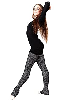 Super Long Leg Warmers Stretch Knit H…
