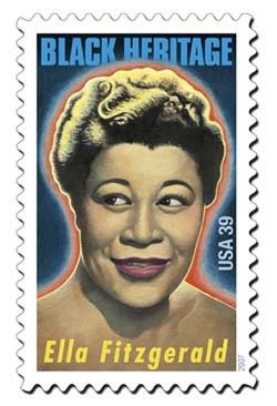 Ella Fitzgerald 20 x 39 cent us Postage Stamps #4120