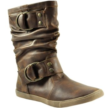 Blowfish Womens Harnett Whiskey Pu 11