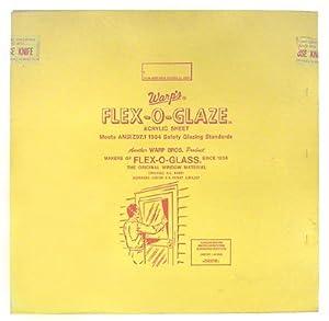 Warp Bros 100G-4896 Flex-O-Glaze Acrylic Safety Glaze, 48-Inch by 96-Inch