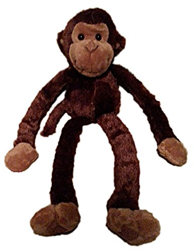 One Large Hanging Velcro Hand Stuffed Animal Plush Monkey by Adventure Planet