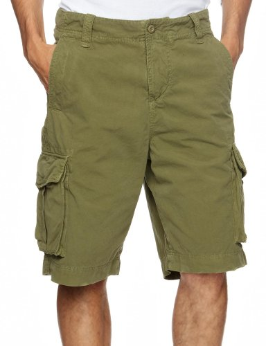 Staff Franco Men's Shorts Olive Green W29 IN