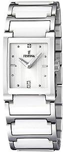Festina Ceramic Collection Reloj elegante para mujeres Con elementos de cerámica