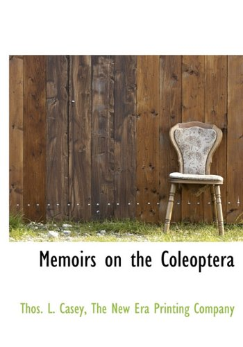 Memoirs on the Coleoptera