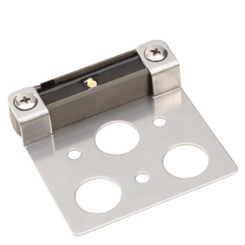 Kichler Lighting 15734Gry30 Design Pro Led 3000K 3-Inch Hardscape, Deck, Step And Bench Lights, Gray Finish
