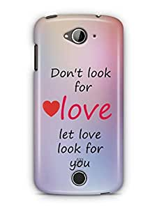 YuBingo Let Love Look For You Mobile Case Back Cover for Acer Liquid Jade 530
