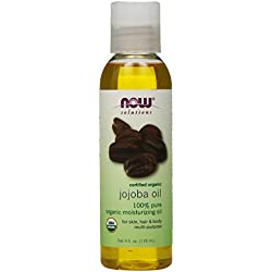 NOW Foods Organic Jojoba Oil, 4 ounce