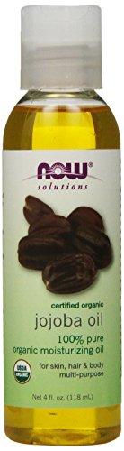 NOW Foods Organic Jojoba Oil, 4 ounce