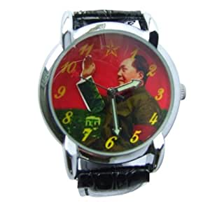 Amazon.com: Waving Chairman Mao Watch - Black