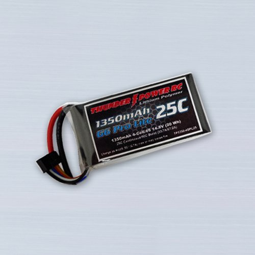 Thunder Power 3S 1350mAh 25C Battery 11.1V