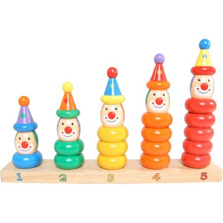 Toy Workshop Clown Peg Board