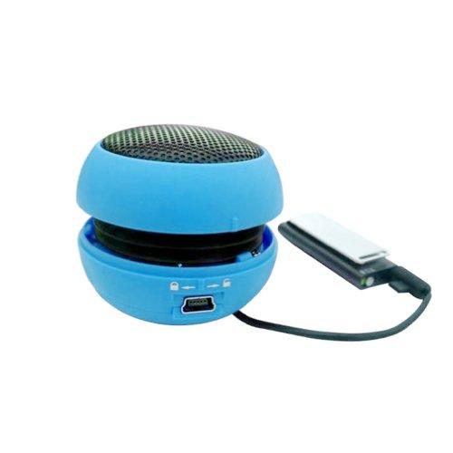 Portable Usb Mp3 Stereo Mini Speaker Music Mp3 Player Amplifier Loudspeaker Blue