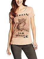 LTB Jeans Camiseta Manga Corta Manebo (Rosa)
