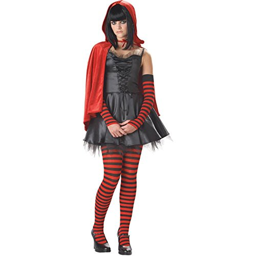 Kid's Dead Riding Hood Costume (Size:Small 3-5)