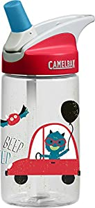 CamelBak Kids Eddy Water Bottle, 0.4 L, Rad Monsters