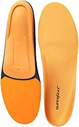 SUPERFEET 7406 Men\'s Comfort Insole Orange Men\'s 13.5-15
