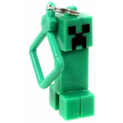 Official Minecraft Exclusive CREEPER Toy Action Figure Hanger - 1