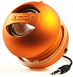 XMI X-Mini II Enceinte portable pour iPhone/ iPad 2 3 / lecteur MP3 / ordinateur portable Orange