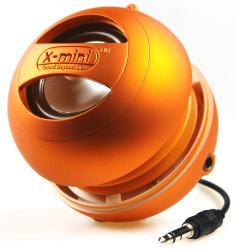 X-mini II XAM4-OR Mono Capsule Speaker (Orange)