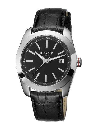 Kienzle - K3011013011-00002 - Montre Homme - Quartz Analogique - Bracelet Cuir Noir