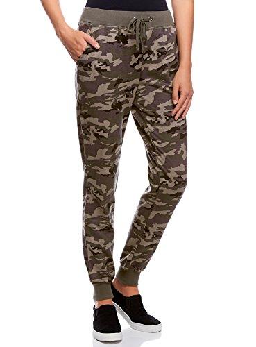 oodji-Ultra-Femme-Pantalon-Jersey-Style-Militaire