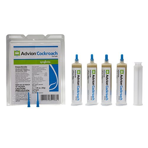 Advion Syngenta Cockroach Gel Bait 1 Box(4 Tubes)