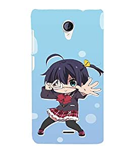EPICCASE Dancing Girl Mobile Back Case Cover For Micromax Unite 2 A106 (Designer Case)
