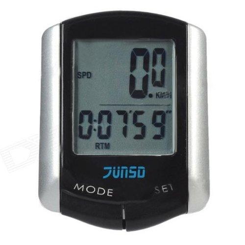 11-Funktion-LCD-Draht-Fahrrad-Computer-Geschwindigkeitsmesser