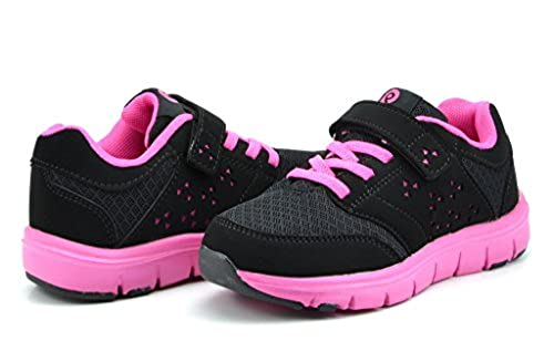 1. Dream Pairs Kids Fashion Velcro Strap Light Weight Running Athletic Casual Sneakers Shoes