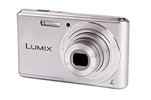 2.7 inch LCDPanasonic Lumix DMC-F5EB-S Compact Camera - Silver (14.1MP, 5x Optical Zoom, Super Slim Design, 28mm Wide Angle Lens, HD Video Recording) 2.7 inch LCD