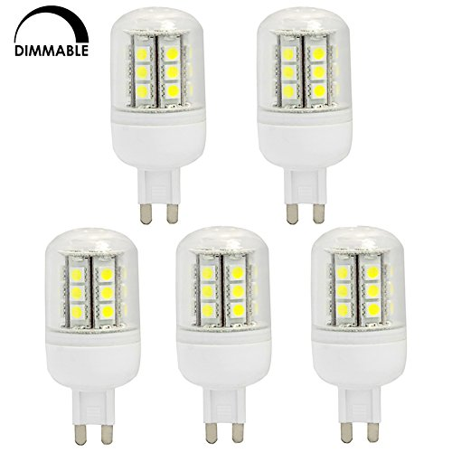 hero led dimmable t4 g9 led halogen replacement bulb 4 8w 40w equal 5 pack ebay. Black Bedroom Furniture Sets. Home Design Ideas