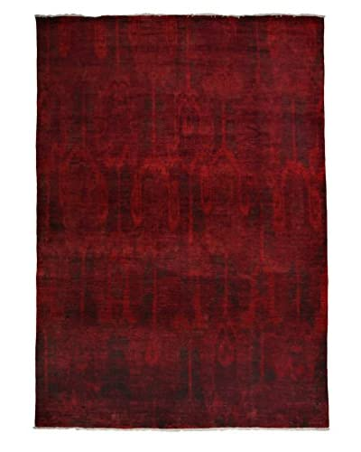Darya Rugs Moroccan Oriental Rug, Red, 11' 10 x 8' 9