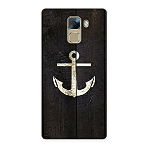 Bold Anchor Back Case Cover for Huawei Honor 7