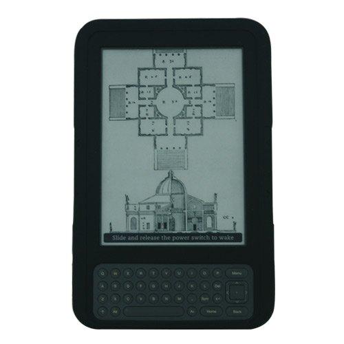 ishoppingdeals-black-textured-silicone-skin-case-cover-for-amazon-kindle-3-latest-generation