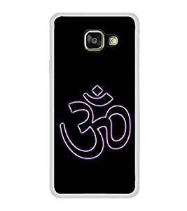 Om 2D Hard Polycarbonate Designer Back Case Cover for Samsung Galaxy A7 (2016) :: Samsung Galaxy A7 2016 Duos :: Samsung Galaxy A7 2016 A710F A710M A710FD A7100 A710Y :: Samsung Galaxy A7 A710 2016 Edition
