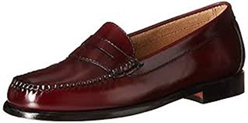 Cole Haan Men's Ascot Penny II Loafers, Burgundy (12) (Cole Haan Mens Shoes Patent compare prices)