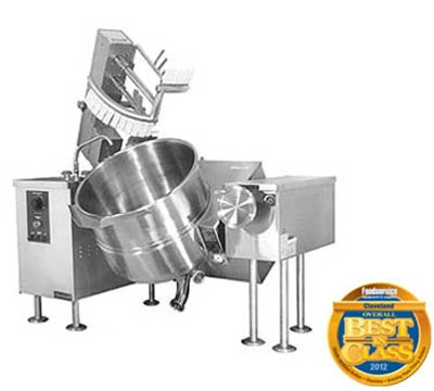 Cleveland Mkgl-40-T Ng 40-Gal Tilt Kettle Mixer W/ Solid-State Temperature Control, Ng, Each