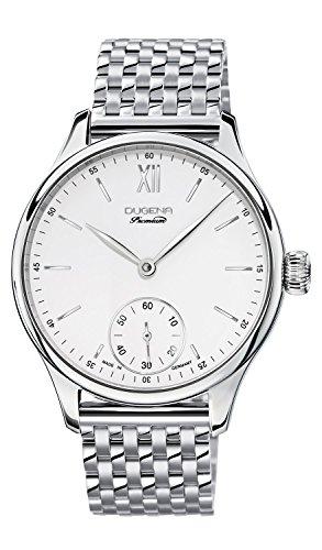 Dugena 7090116 - Reloj de pulsera hombre, Acero inoxidable, color Plateado