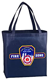 FIRE ZONE REUSABLE TOTE BAG