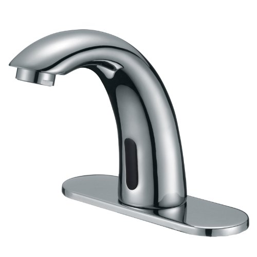 Freuer Magia Collection: Automatic Touchless Sensor Faucet, Polished Chrome