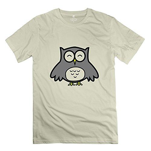 Ywt Owl Men T Shirts Unique Cool Natural