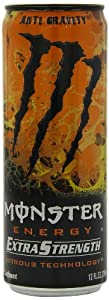 Monster Energy Extra Strength Drink, Anti-Gravity, 12 Ounce (Pack of 12)