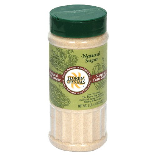 Buy Florida Crystals Natural Sugar, Milled Cane, 16-Ounce Canister (Pack of 6)