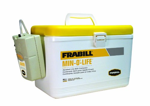 Frabill Personal Station 8 Quart Yellow